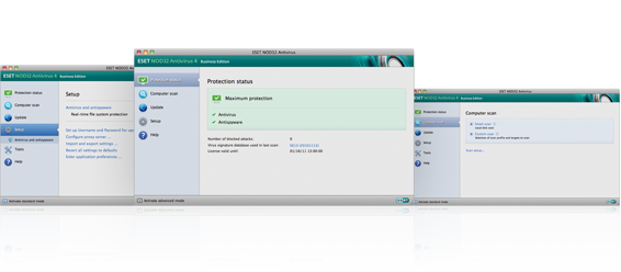 ESET NOD32 Antivirus Business Edition for Mac OS X